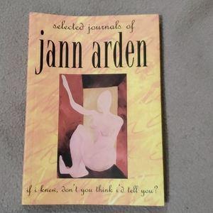 NWOT Selected journals of Jann Arden